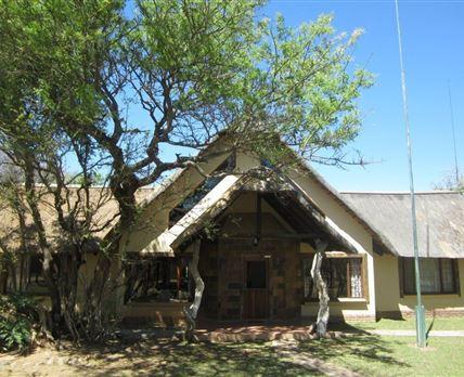 Lodge - front entrance