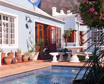 Exterior and swimming pool