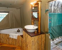 Luxury Tented Chalets Bathroom