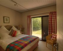 Double room leading into the garden