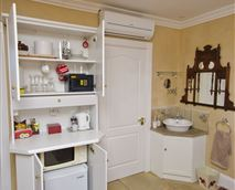 Basic kitchenette for convenience
