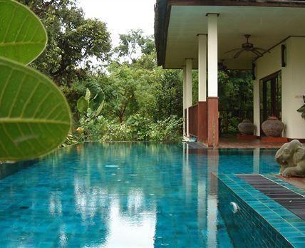 Swimming pool © www.geckovilla.com