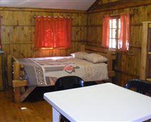 Campers cabin bedroom