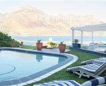 View from the pool over harbour to Chapman's Peak © Poseidon Guest House