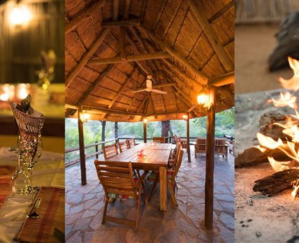 experience the wild heart of Africa © ku sungula safari lodge