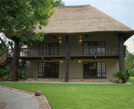 The lodge has four luxury double rooms.