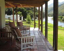 Fish Eagle Lodge patio.