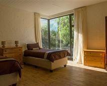 Mountainside twin bedroom