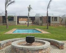 Swimming Pool Area © Letsati Lodge