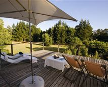 Some of our double rooms include balconies or a sun deck © Villa Exner
