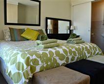 En-suite main bedroom with lots of closet space.
