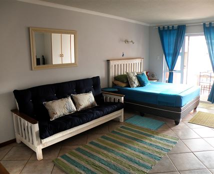 Sleeper couch and queen bed