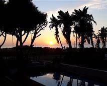 View of sunrise from House 1 veranda © Destiny4u Retreat