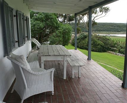 verandah with view