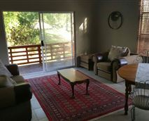 Living area fully equipped and with lovely view over the front deck