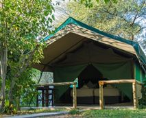 Tented Accommodation-fully services © DM Camps