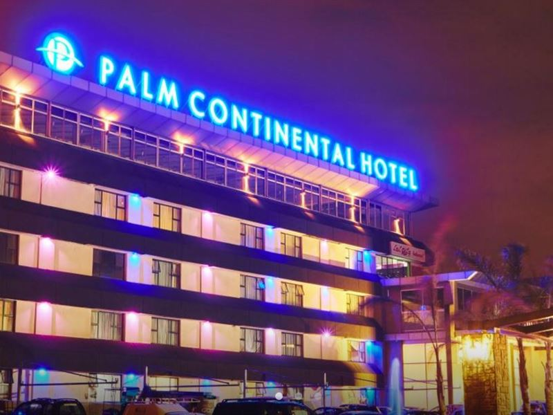 Palm continental hotel for Continental centre hotel