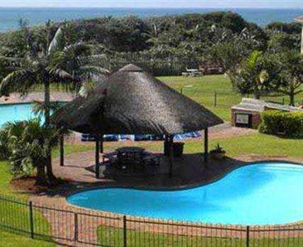 Swimming pools and gazebo
