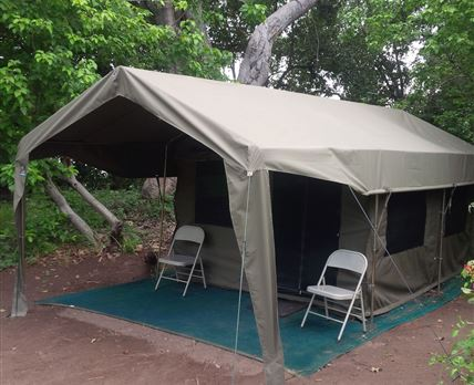 Tents that is used for our safaris © bushbaby