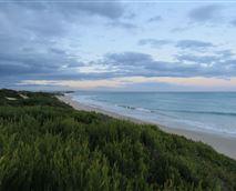 Looking towards Jeffreys Bay