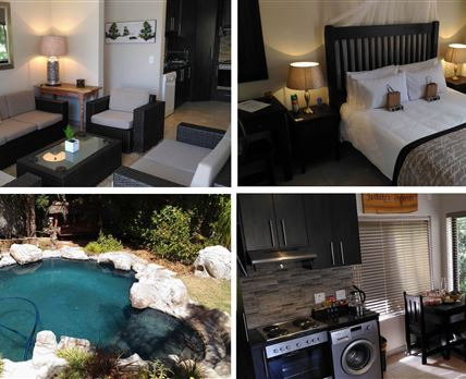 An entire, self contained apartment with own lounge, kitchen, bedroom, bathroom & BBQ patio. Much more than your average guest unit.