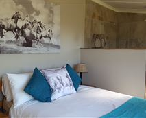 The Stone room - double room sleep 1 to 2 people.  En suite, private entrance and patio