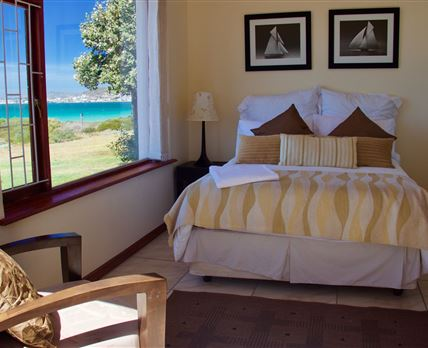 The spectacular view from the Beach House!  © Didi Schoeman
