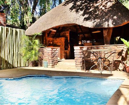 Lapa and pool for Manor House guests only.