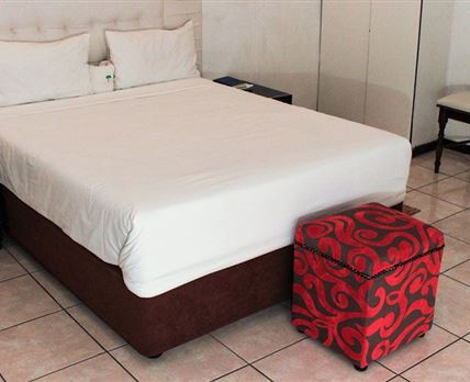 One double bed in each room
