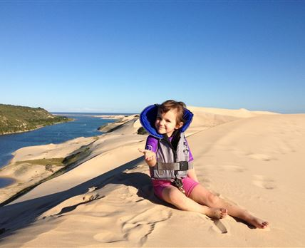 One of South Africa's Highest Sandune