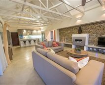 living room and kitchen © Lowveld Escape