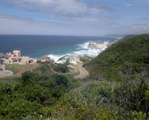 View as you enter the resort past Fynbos Golf Club
