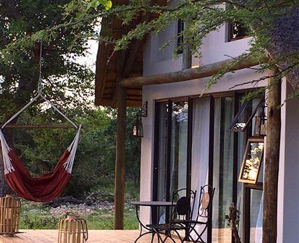 Highly decadent relaxing on verandas © Nyumbani Estate