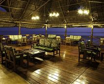 A relaxing place to meet new people and make acquaintances. Full Service Bar. Board Games> Overlooking the Indian Ocean. Long stretch of beach on either side. Long Romantic walks