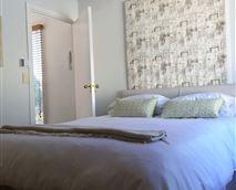Bedroom of the Azalea Apartment