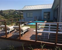 Outside pool and Deck area