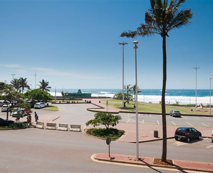 Meters away from the beach. Direct ocean view.