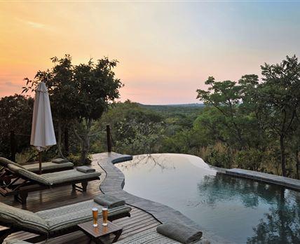 African sunset © Zwahili Game Lodge
