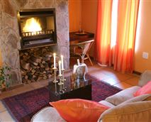 Leopard suite lounge area