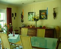 Dining area © Cape Valley Manor