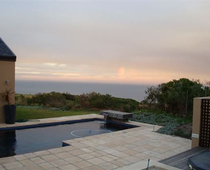 Large Pool with Sea Views