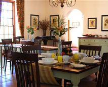 Breakfast room © Ridgeback House, Vansha Farming (Pty) Ltd