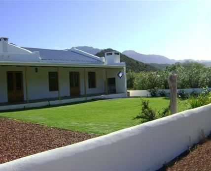 North facing with private garden and magnificent views in all directions.