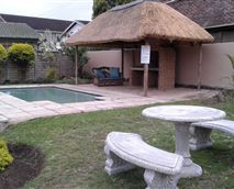 Enjoy a braai in our pool area or just relax or have a dip in our pool on a hot day