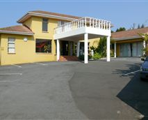 Front of house with carpark