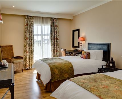 Comfortable Twin Guest Room in the heart of Kimberley.