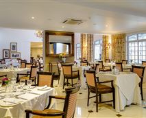 Enjoy a scrumptious meal in our hotel restaurant.