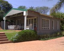 The Cottage is completely separate from the main house ensuring privacy. There is a a verandah with table and 8 chairs for outdoor entertaining as well as a small grassy area.<br />Braai facilities provided<br />Secure offroad parking within easy access to the cottage