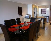 Open-plan dining room