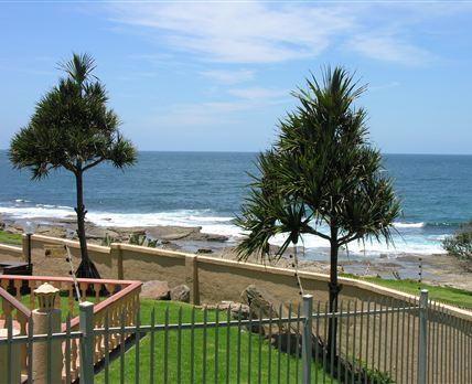Seaview from Uvongo Cabanas